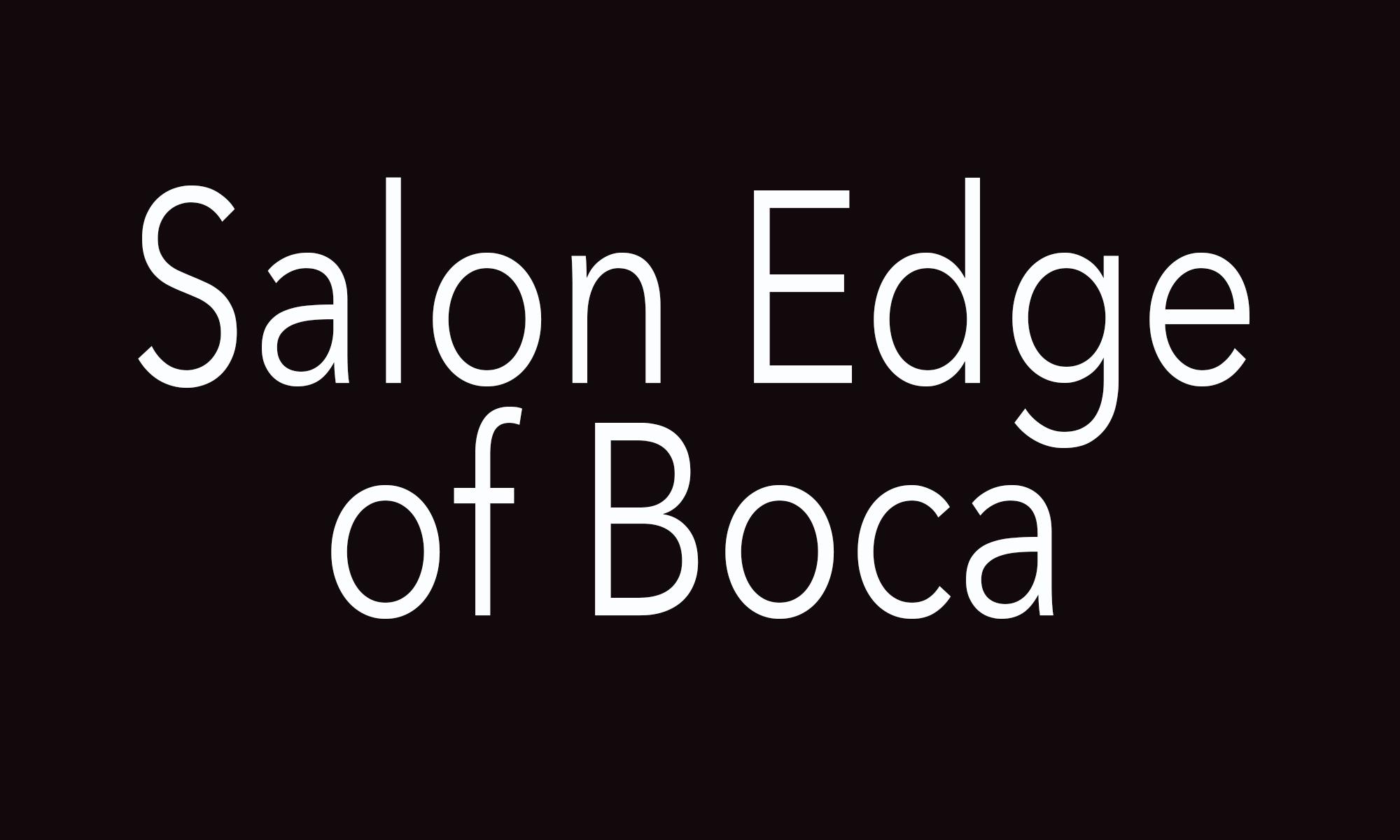 Salon Edge of Boca